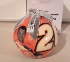 Tony Stewart Nascar Collectible Ornament With #20 And 2 Pictures On It NWOT