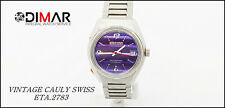 Vintage CAULY Swiss 1217- Incabloc- Waterproof - Cal. ETA.2783