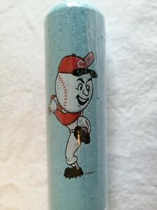 "Louisville Slugger Souvenir Cincinnati Reds Blue Baseball Bat 18"" Sealed"