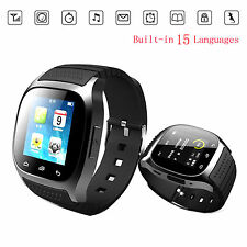 Touch Screen Bluetooth Smart Watch For Android Samsung S7 S6 Note 5 4 3 LG G4 G3