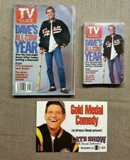 TV Guide Magazine Issue Aug 27-Sept 2, 1994 David Letterman & Matching Note Pad