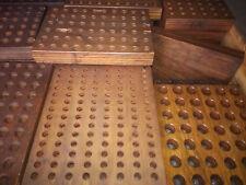 Holzblock Sortimentskiste Sortimentsbox Industrie Loft Fabrik Deko Vintage ALT??