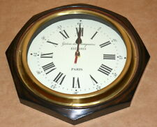 "Vintage wall clock collectible wooden 12"" decorative octagon shape wall clock"