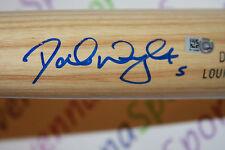 David Wright Autographed Louisville Slugger Genuine Bat Engraved Mets MLB Holo