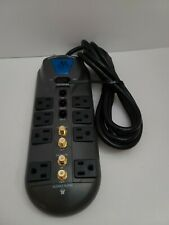 Acoustic Research AR Surge Protector Power Strip Model S1R801FC4