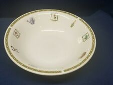 """Vintage Gibson """"Garden"""" Themed Round Serving Bowl Very Nice!"""