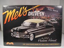 1952 HUDSON HORNET MELS DRIVE IN MOEBIUS MODELS 1:25 SCALE PLASTIC MODEL CAR KIT