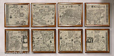 Authentic Models MC818 Wall Map of 1604 The World Portfolio