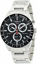 Tissot T0444172105100 T-Sport PRS 516 Steel Men's Black Dial Chronograph Watch