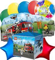 Lego City Party Supplies Balloon Decoration Birthday Bundle