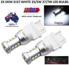 2X IJDM WHITE LED P27/7W 3157 6000K DUAL BRIGHTNESS WHITE BULB TOYOTA FORD JEEP