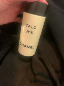Vintage Chanel No 5 Talc Part Used