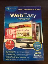 Avanquest WebEasy Pro 8 Website Design Templates for Windows