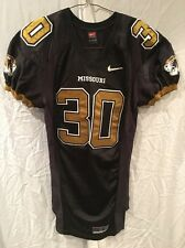 Game Worn Used Missouri Tigers Mizzou Football Jersey #30 Size Large L. WILLIAMS