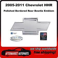2005-2011 Chevrolet HHR Polished Bordered Aluminum Bowtie Rear Emblem AMI 96004P