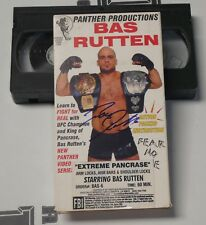 Bas Rutten Signed Extreme Pancrase MMA VHS Tape BAS Beckett COA UFC Autograph 6