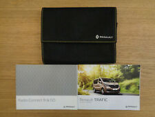 Renault Trafic Owners Handbook/Manual and Wallet 14-19