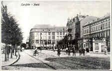 DANZIG Gdansk Polen Reprint-Ansicht Langfuhr Markt Wrzeszcz Market Strasse