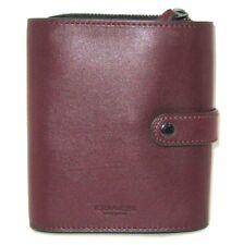 Coach F34868 Cardinal Burgundy Men's Organizer Passport Wallet Leather NWT $150