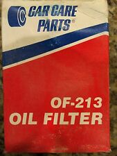 CAR CARE OF-213  REPLACEMENT OIL FILTER