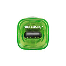 Rock Candy USB Universal Car Charger & Nintendo DS Systems 5W  Neon Green  NEW