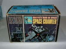 * 1966 Mattel'S Battery Op Man In Space ( Space Crawler ) Mint In The Box