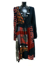 DESIGUAL Robe T 40/multicolore avec motif & LUXE PUR (O 5142)