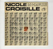 """EP 45 tours Nicole Croisille """"Qu'est-ce qui se passe dans mon coeur ?"""" 1969 EXC"""