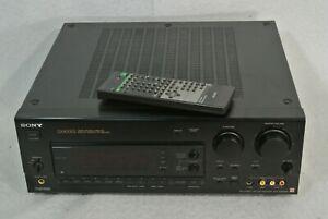 Sony STR-GX800ES 5.1 Surround Sound AM/FM Stereo Receiver Bundle Remote