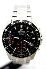 CASIO EFV540D-1A Edifice Chronograph Mens Subdial Solid Stainless Steel
