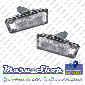 License Number Plate Light Lamp Set for 14~18 Kia Forte/Cerato 4DR/5DR