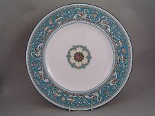 "WEDGWOOD FLORENTINE TURQUOISE 10 3/4"" DINNER PLATE."