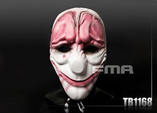 FMA Hallowmas Party Cosplay CS PayDay 2 Hoxton Red Head Mask TB1168