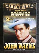 The Great American Western: John Wayne (DVD, 2003, 2-Disc Set) 11 Films
