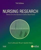 GERI LOBIONDO-WOOD, JUDITH HABER - Nursing Research: Methods ** Brand New **