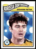 Giovanni Reyna 2020 Topps Living Set UEFA Champions League #180