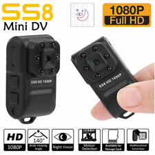 Mini Camera HD 1080P 30fps Home Security Cam Night Vision w/ 6 infrared lights L