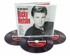 The Very Best of Ricky Nelson 3 CDs Hello Mary Lou Its Late Teenage Idol & more
