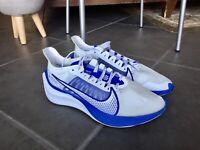 Nike Zoom Gravity White/Clear Racer Blue Men Running Shoes BQ3202-100 Sz 9.5