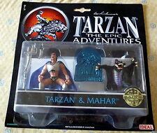 TARZAN THE EPIC ADVENTURES ACTION FIGURES TARZAN & MAHAR
