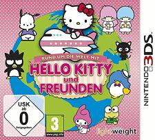 Tutto il mondo con HELLO KITTY e amici-NINTENDO 3ds XL 2ds NUOVO