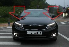 (Fits:2014+ Kia Optima K5 ) DRL LED Day Light DUAL Projection Head Lamp