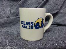 Vintage KLMS AM SPORTS RADIO COFFEE MUG ESPN LINCOLN NEBRASA 1480 15