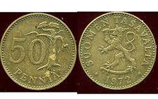 FINLANDE 50 pennia 1972