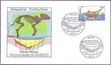 BRD 1998: Grube Messel! FDC der Nr. 2006 mit Bonner Sonderstempeln! 1A! 1707