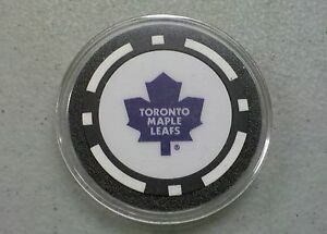 Toronto Maple Leafs - Texas Hold em Poker Chip Card Guard Protector NEW NHL