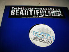 "Damian Marley w/Bobby Brown Beautiful 12"" Single NM PROMO Universal 2005"
