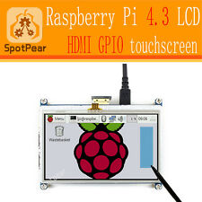 Raspberry pi 4.3 inch touchscreen HDMI LCD more smarter than 5inch and 7 inch