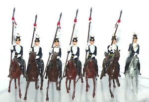MB14 Britains very rare 17th Lancers. Only available in set 73. VGC