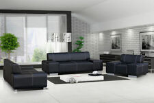 Faux Leather Bedroom Modern Sofas